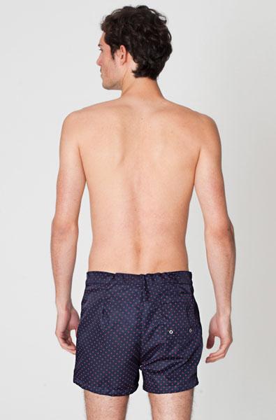 American Apparel Polyester Micro Fiber Board Short