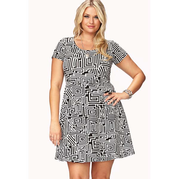 The Party-Print Dress