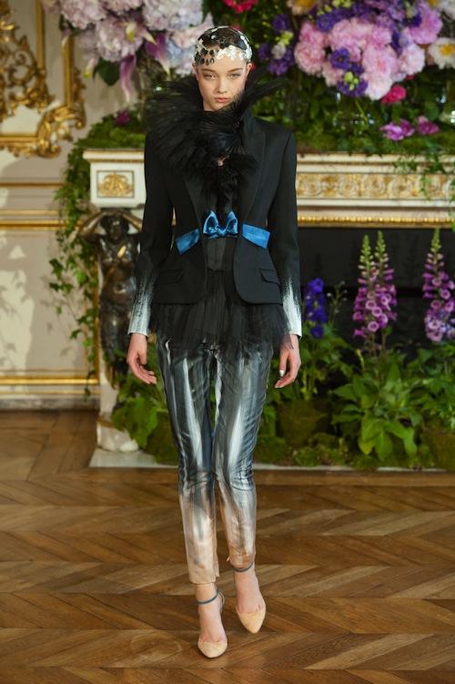 Alexis Mabille's Ombre Pants