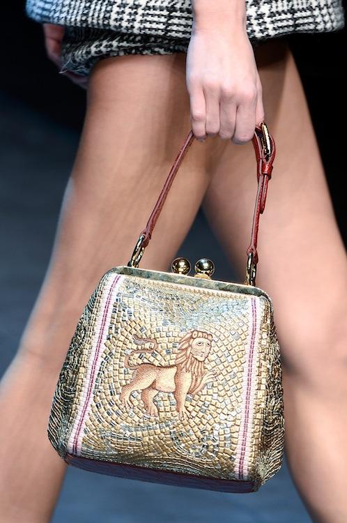 Dolce & Gabbana's Mosaic-Tiled Purse