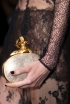 Valentino's Oyster Pearl Clutch