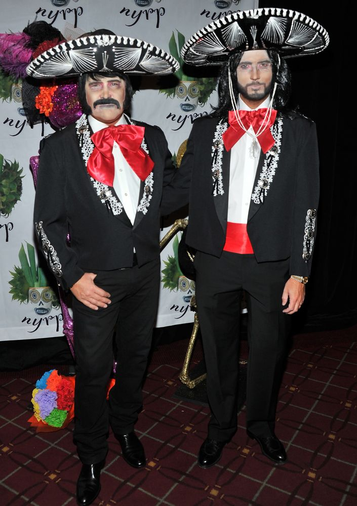 michael kors and lance lepere as mariachis - Band Halloween Costumes