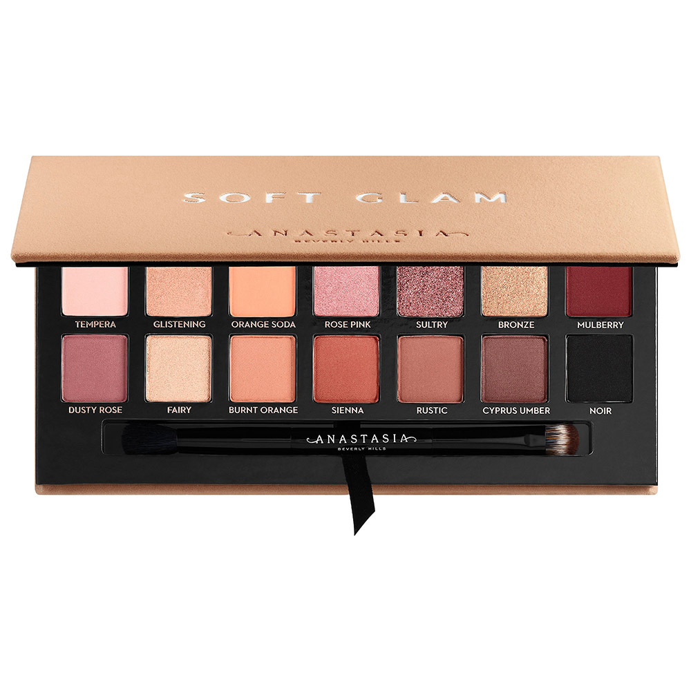 Anastasia Beverly Hills  22 Gorgeous Eyeshadow Palettes to Add to Your Collection This Spring anastasia beverly hills soft glam eyeshadow palette
