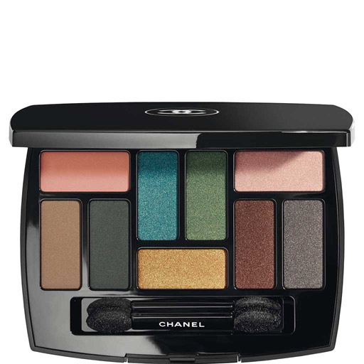 Chanel  22 Gorgeous Eyeshadow Palettes to Add to Your Collection This Spring chanel eyeshadow les 9 ombres