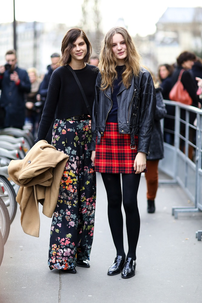 The best models off duty snaps from milan fashion week fall 2017