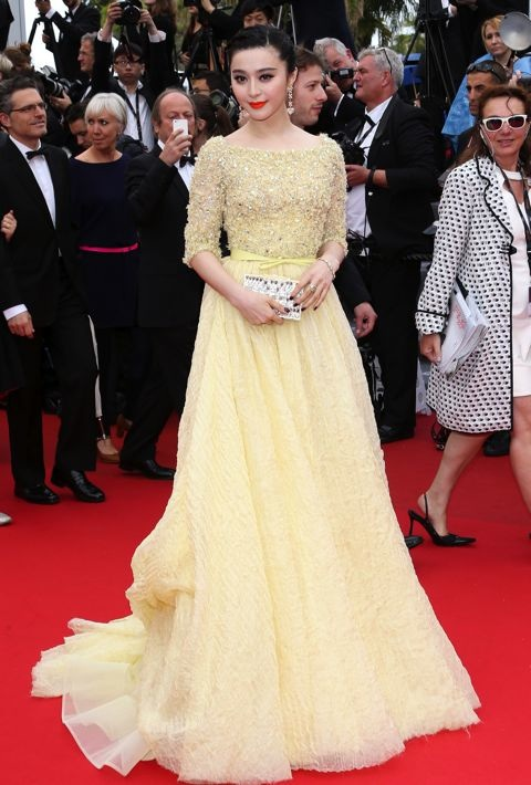 Fan Bingbing at the Premiere of Jeune et Jolie