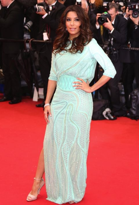 Eva Longoria at the Premiere of Jimmy P. (Psychotherapy of a Plains Indian)