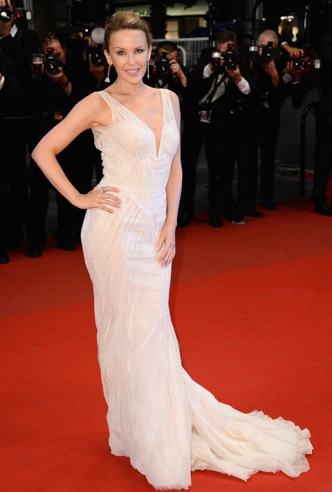 Kylie Minogue at the Premiere of Les Salauds