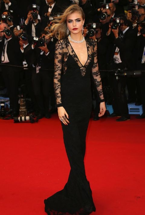 Cara Delevingne at the Opening Ceremony and Premiere of The Great Gatsby