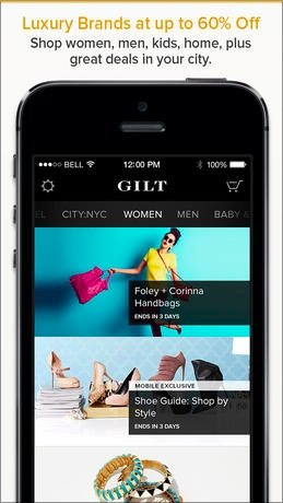Gilt for High-End Purchases