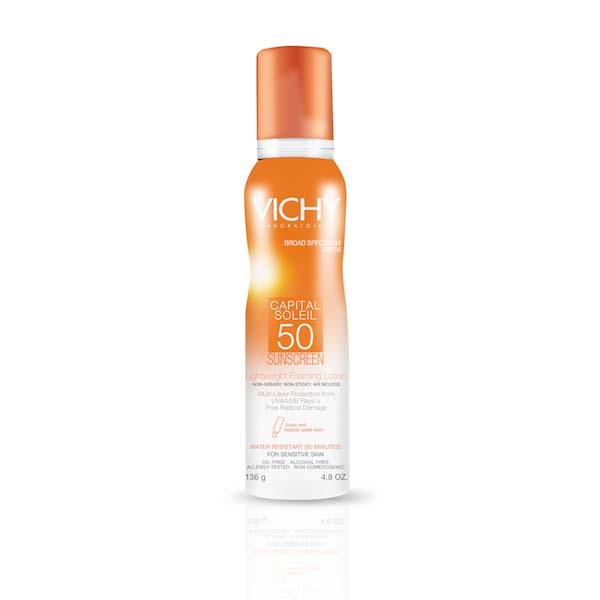 Vichy Capital Soleil Foaming Lotion SPF 50
