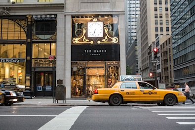 The british are coming ted baker invades fifth avenue