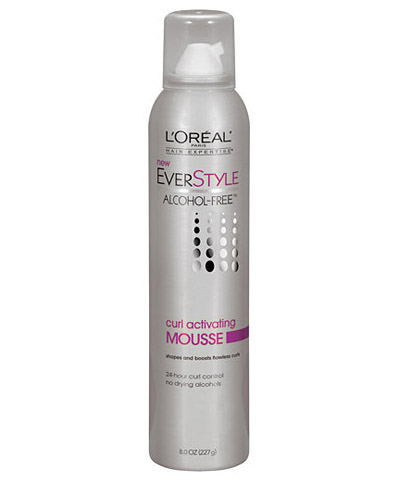 L'Oreal Alcohol-Free Curl Activating Mousse $5.99