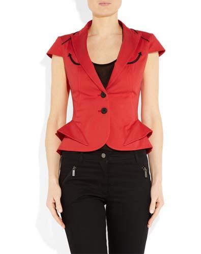 Tailored Peplum Jacket