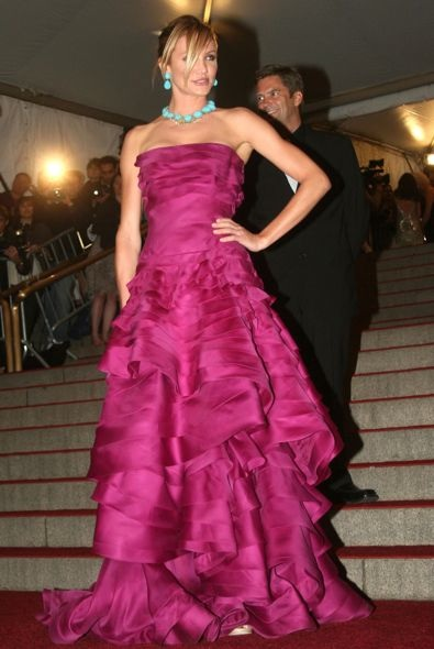 Cameron Diaz at the 2007 Met Gala