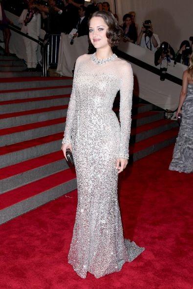 Marion Cotillard at the 2010 Met Gala