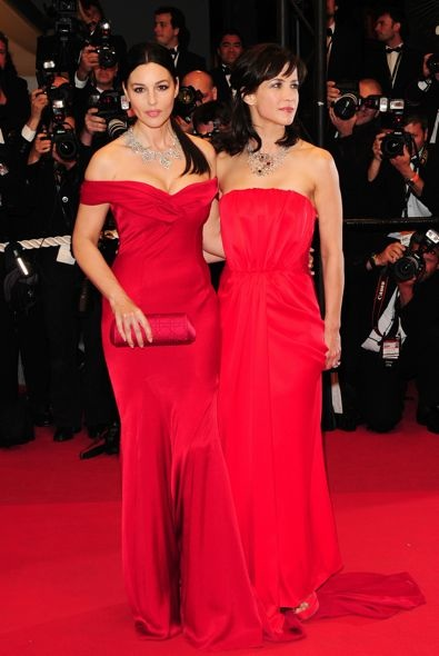 Monica Bellucci at the 2009 Cannes International Film Festival Premiere of Don't Look Back