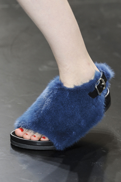 Celine Spring 2013: Cookie Monster