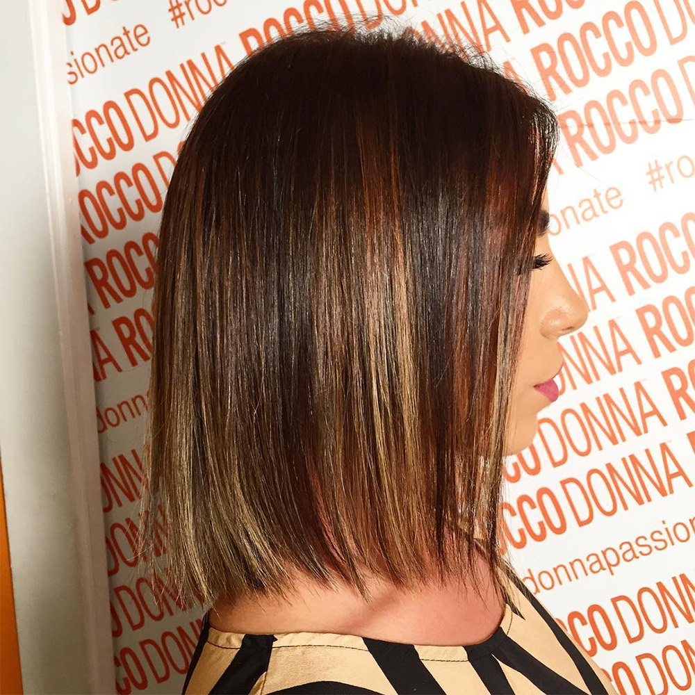 Popular color trends 2017 - Tiger Eye Balayage On Short Hair Color Melting