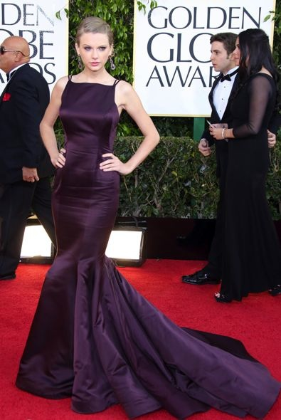 8. Taylor Swift at the Golden Globe Awards