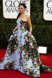 2. Lucy Liu at the Golden Globe Awards