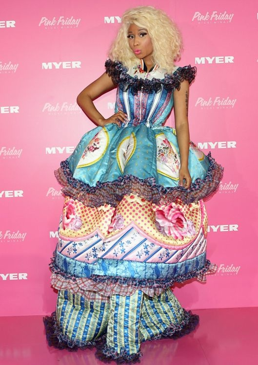Nicki Minaj at the Sydney Promotion of Her Pink Friday Perfume