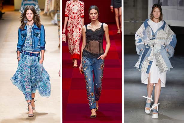 For your ultimate guide to the top fashion trends of spring 2015