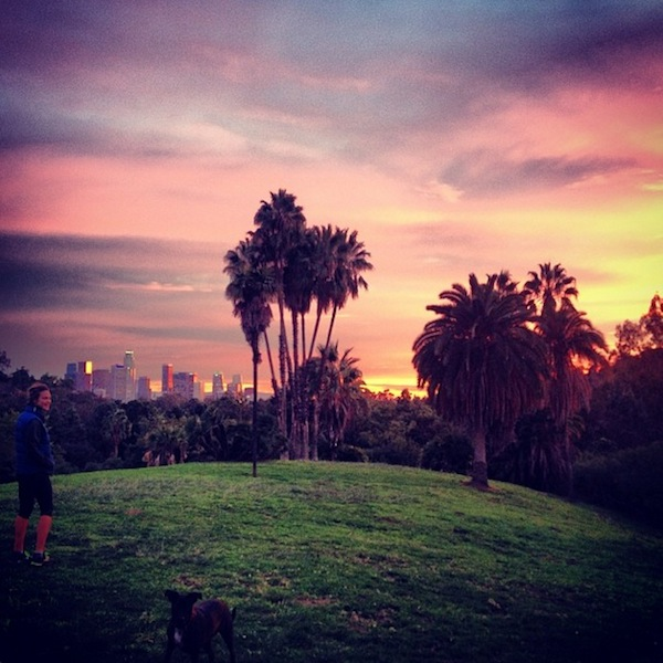 Troian Bellisario Takes a Hike
