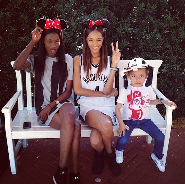 Jourdan Dunn Does Disney