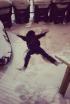 Hayley Atwell's Snow Fail