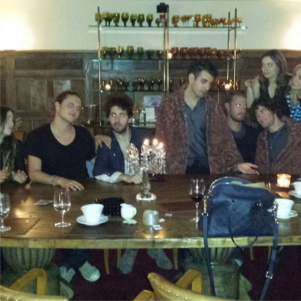 Sophie Tweed Simmons' (Long) Last Supper