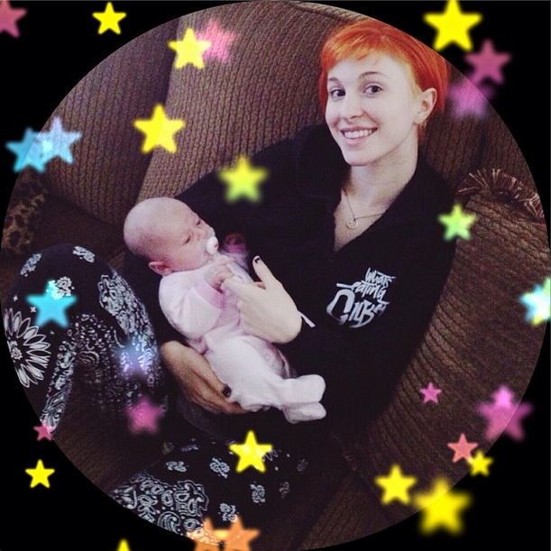Hayley Williams is an Aunty