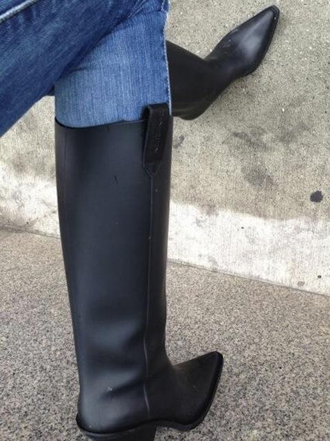 Constance Jablonski's Givenchy Boots