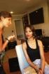 Zoe Saldana Gets Ready for the Star Trek Premiere