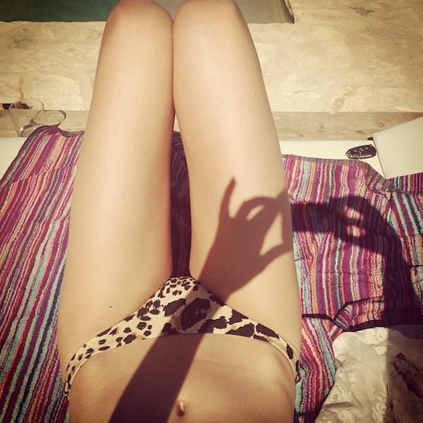 Rosie Huntington-Whiteley on Holiday