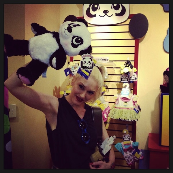 Gwen Stefani Builds a Harajuku Bear
