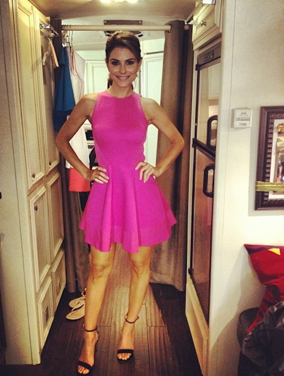 Maria Menounos's Ted Baker Look