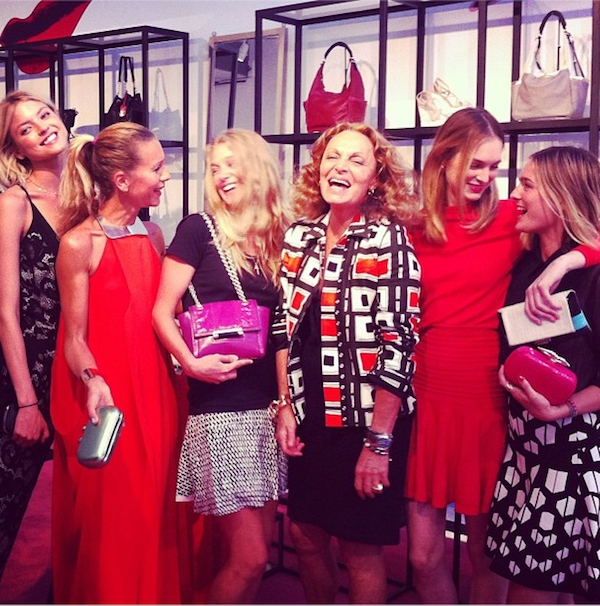 Diane von Furstenberg's Party for Natalie Joos