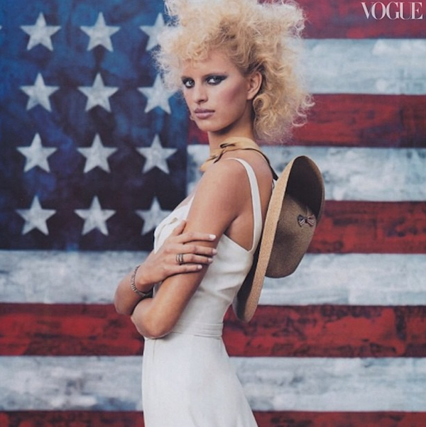 Happy 4th of July from Karolina Kurkova