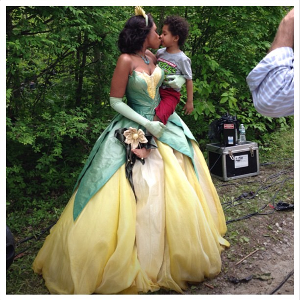 Jennifer Hudson's Disney Princess Moment