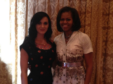 Katy Perry's Birthday Lunch With Michelle Obama
