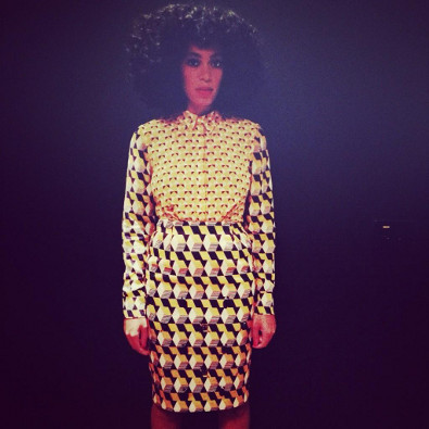 Solange Knowles DJs the H&M Mexico City Launch
