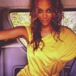 Tyra Banks in Yellow for ANTM