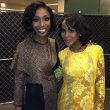 Brandy Norwood and Kerry Washington