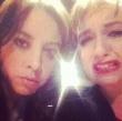 Lena Dunham and Aubrey Plaza Making Faces