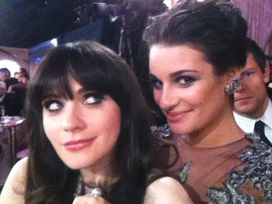 Gal Pals at the Golden Globes