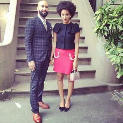 Solange Knowles Goes on a Date