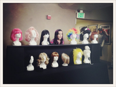 Katy Perry Wigs Out