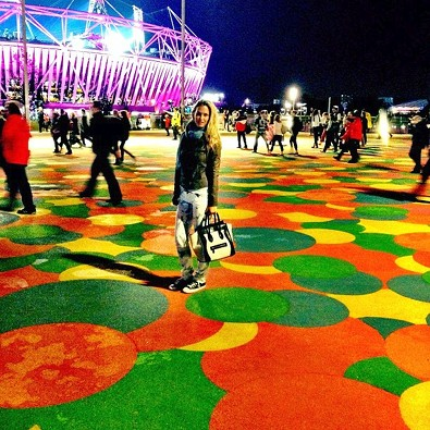 Bar Refaeli at Olympic Park