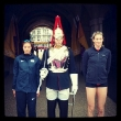 Kerri Walsh Does the London Tourist Thing